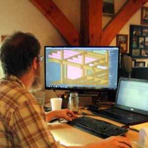 Harmony Engineer Designing On Computer
