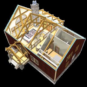 Laurel Ridge Aerial Floorplan