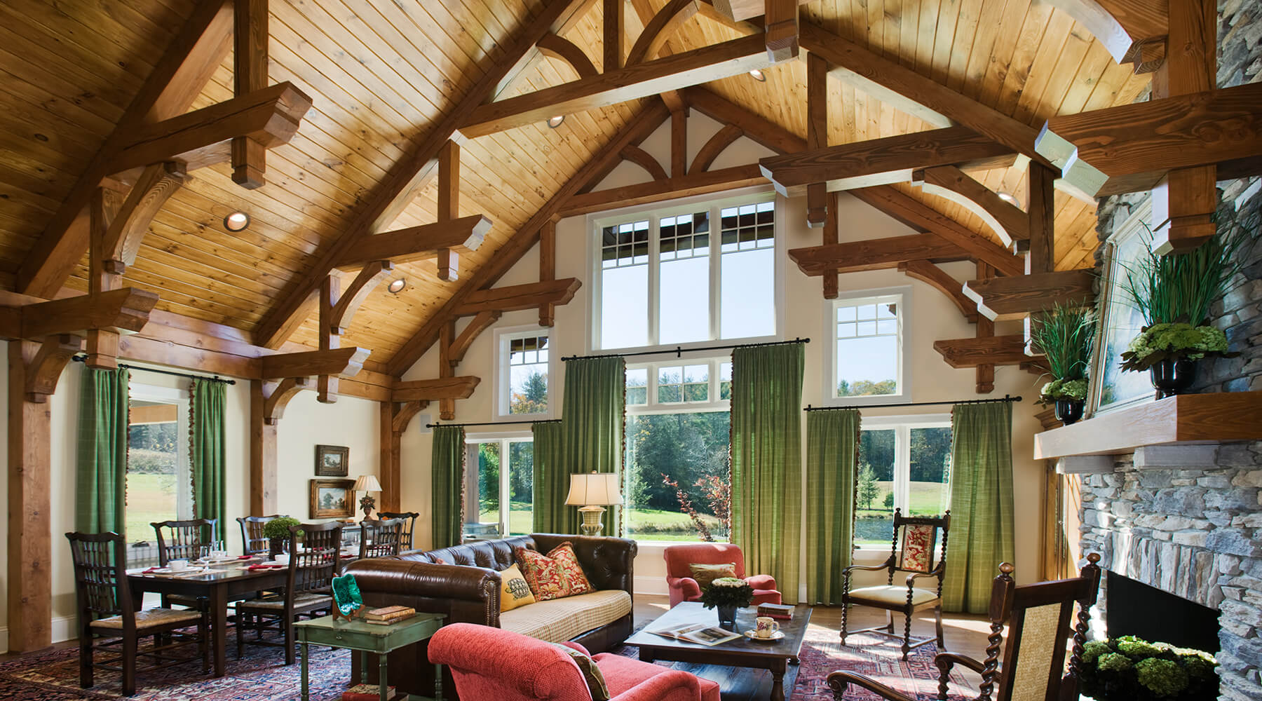Timber Frame Design Construction Harmony Timberworks