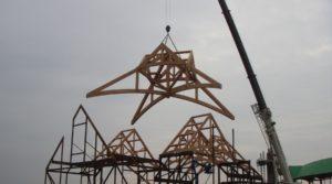 Horizon Chapel Timberworks Process