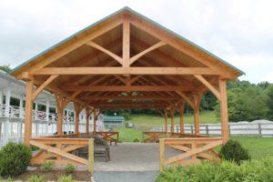 Pavilion Exterior Front View