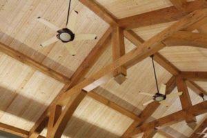 Ceiling Wooden Hammer Beam Trusses