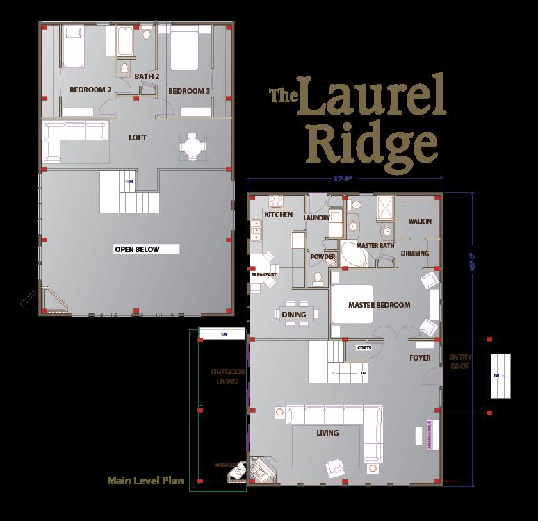 Laurel Ridge Floor Plan