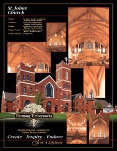 St. John Worship Center Trusses